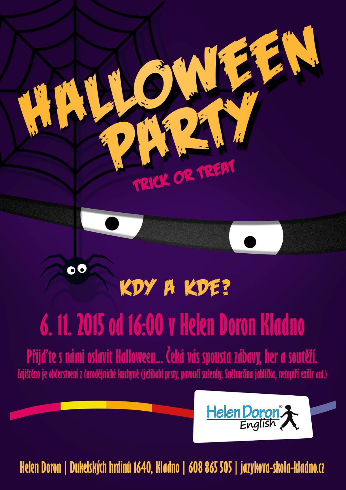 Halloween 2015 Helen Doron Kladno